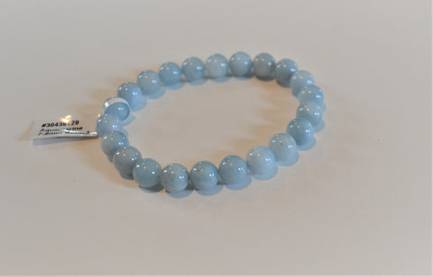 AQUAMARINE 7-8MM ROUND