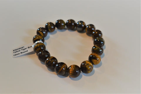GOLD TIGER EYE 12MM ROUND