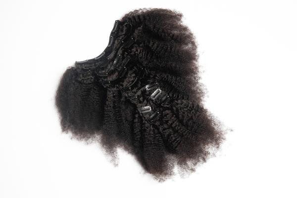 Afro Kinky Clip-Ins