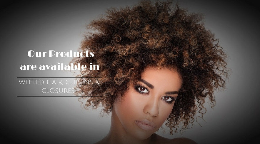 Afro Kinky Curly Closures