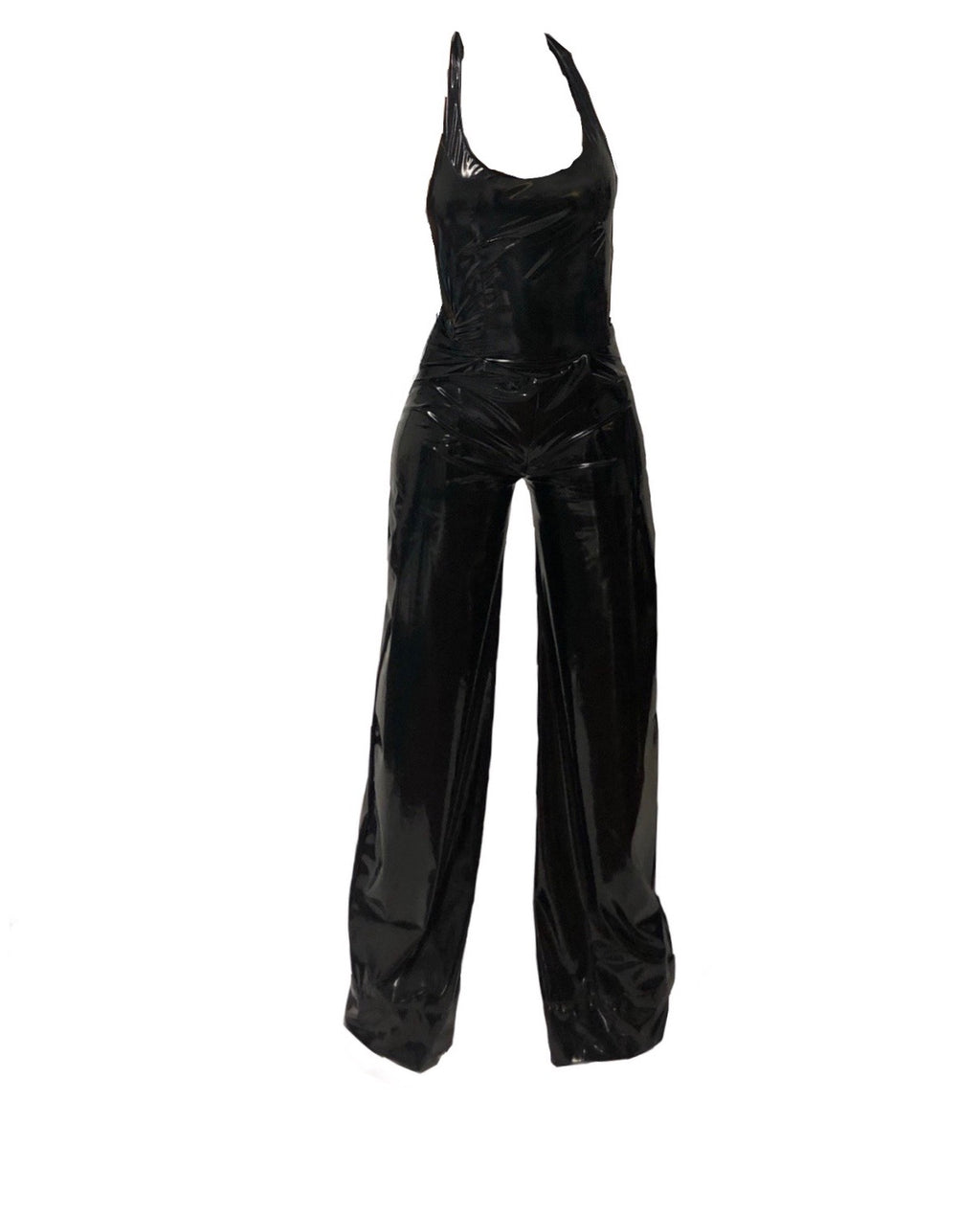 Halter Wide Leg Jumpsuit