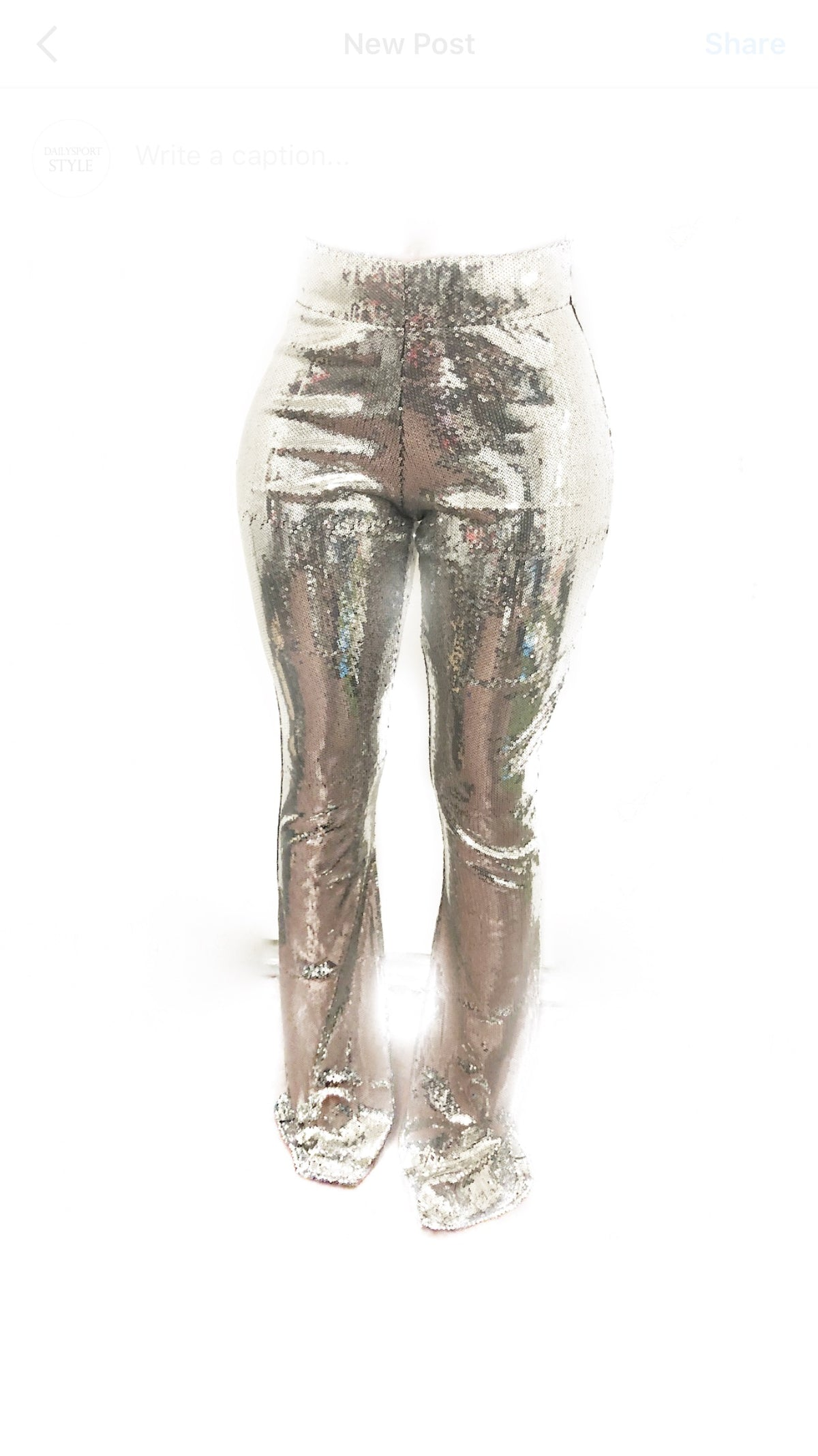 Flare Pant Sequin