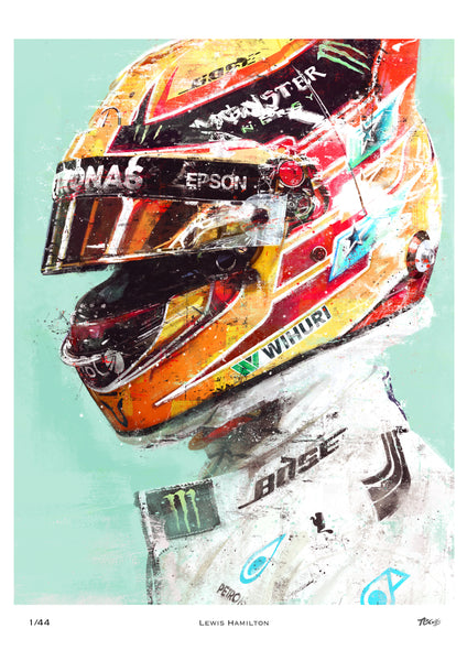 Lewis Hamilton // Limited Edition