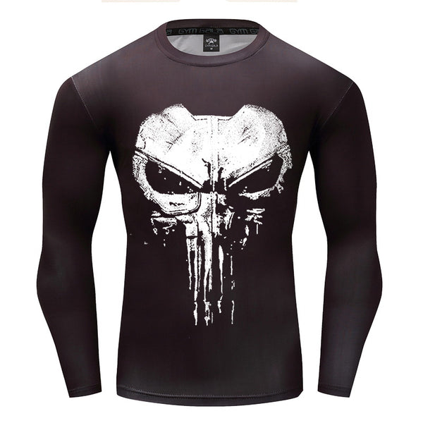 PUNISHER Gym Shirt - Gym Heroics Apparel