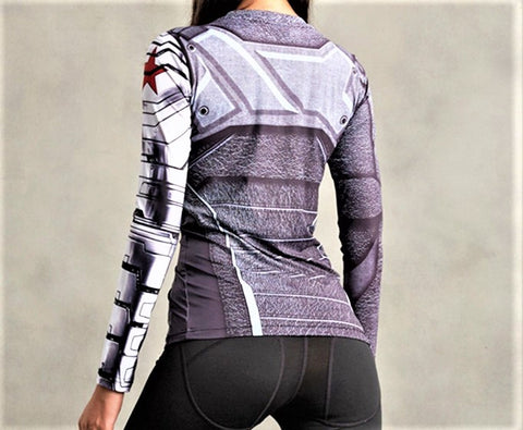 WINTER SOLDIER Women's Gym Shirt