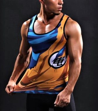 GOKU Gym Tank top - Gym Heroics Apparel