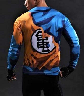 GOKU Gym Shirt - Gym Heroics Apparel