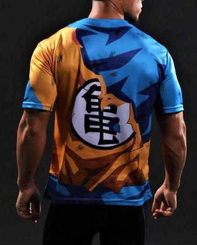 Goku Gym T-shirt - Gym Heroics Apparel