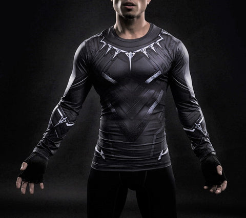BLACK PANTHER Shirt - Gym Heroics Apparel