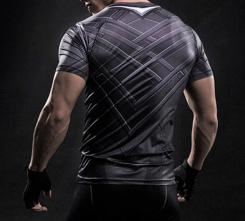 BLACK PANTHER t-shirt - Gym Heroics Apparel
