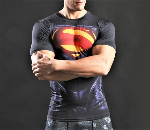 SUPERMAN Workout T-Shirt