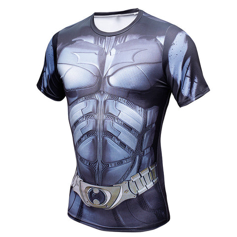 BATMAN Gym T-Shirt (New) - Gym Heroics Apparel