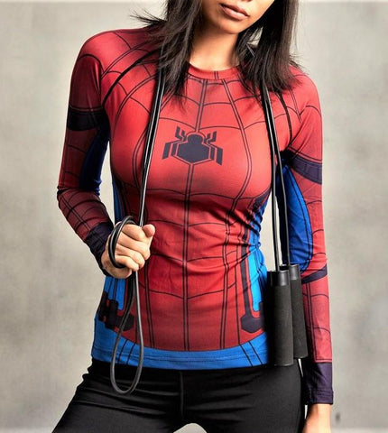 SPIDERMAN Women's Gym Shirt