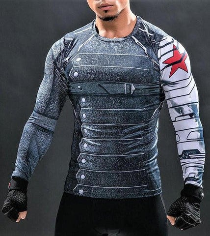 Winter Soldier Gym Shirt