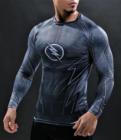 FLASH Gym shirt - Gym Heroics Apparel