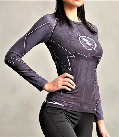 FLASH Women's Gym Shirt - Gym Heroics Apparel