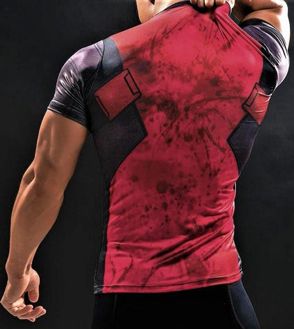 DEADPOOL Gym T-Shirt - Gym Heroics Apparel