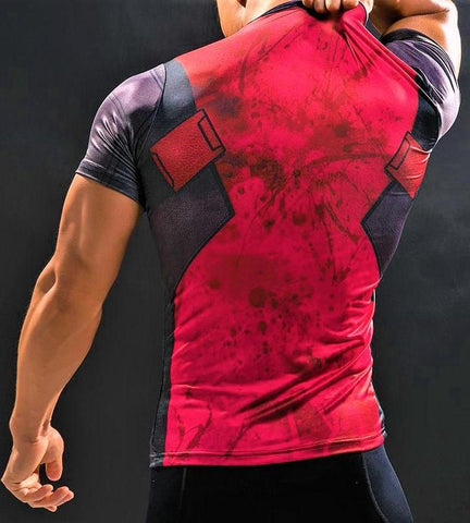 DEADPOOL Shirt - Gym Heroics Apparel