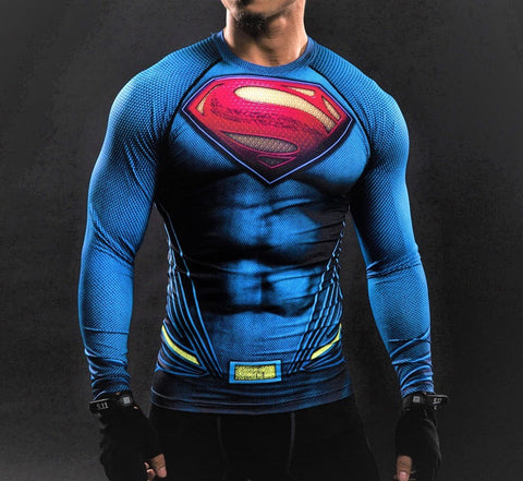 SUPERMAN Gym Shirt