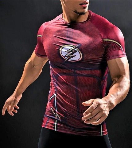 FLASH T-shirt - Gym Heroics Apparel