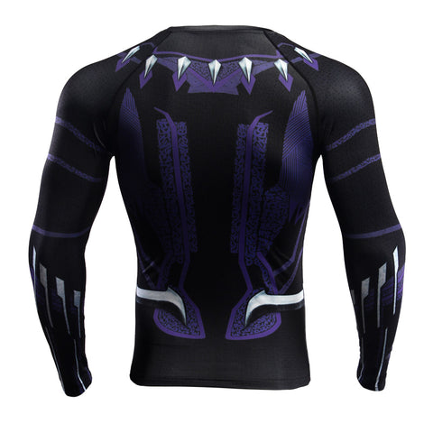 BLACK PANTHER Gym Shirt - Gym Heroics Apparel