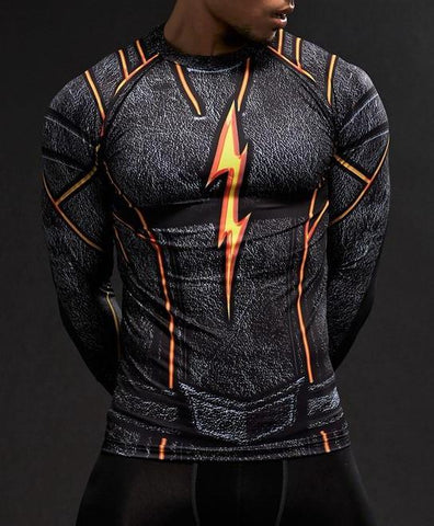 FLASH (The Rival) Gym shirt - Gym Heroics Apparel