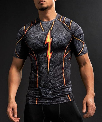FLASH Gym t-shirt - Gym Heroics Apparel