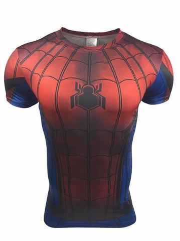 SPIDERMAN Gym T-Shirt - Gym Heroics Apparel