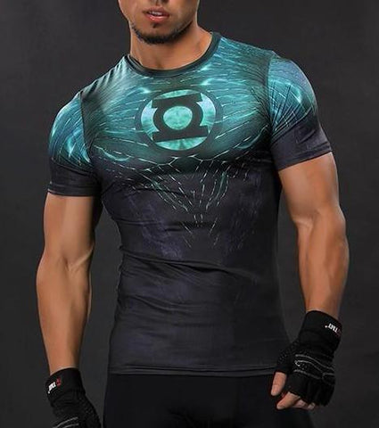 GREEN LANTERN T-Shirt - Gym Heroics Apparel