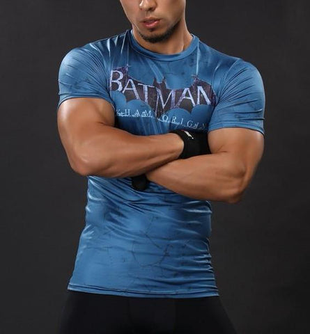 BATMAN Gym T-Shirt - Gym Heroics Apparel