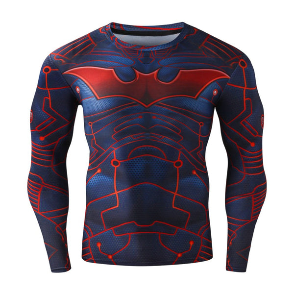 BATMAN Long Sleeve Shirt - Gym Heroics Apparel