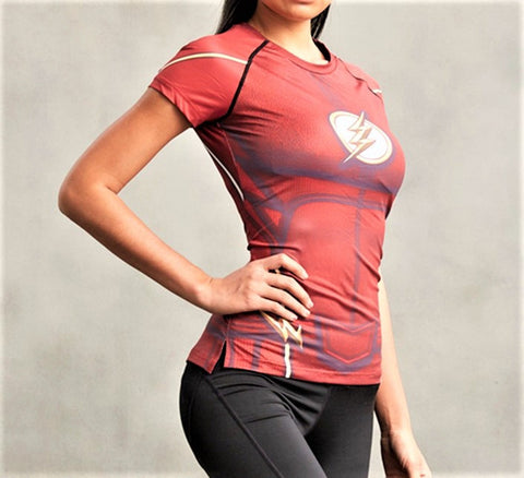 FLASH Women's Gym T-Shirt - Gym Heroics Apparel