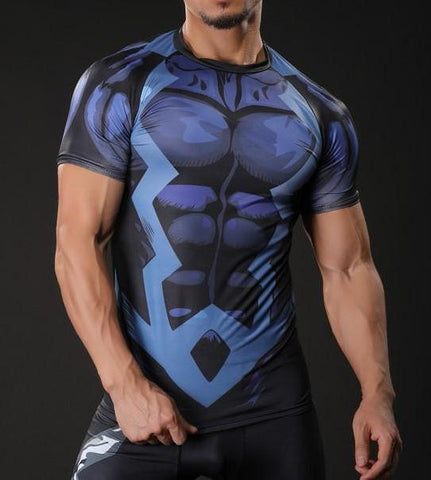 BLACK BOLT Gym T-Shirt - Gym Heroics Apparel