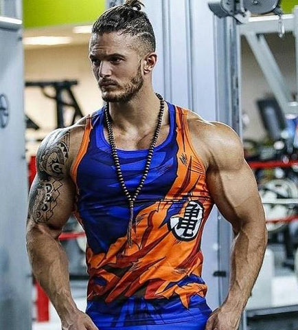 GOKU Tank top - Gym Heroics Apparel