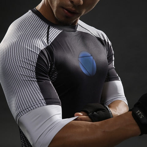 IRONMAN Half Sleeve T-shirt - Gym Heroics Apparel