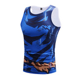GOKU Ultra Instinct Tank Top - Gym Heroics Apparel