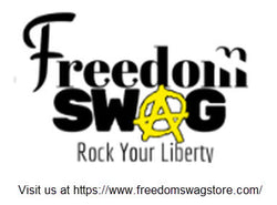Freedom Swag: Rock Your Liberty Sticker
