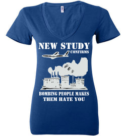 New Study Confirms Women's V-Neck T-Shirt