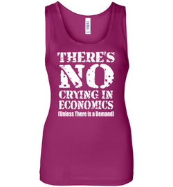There's No Crying In Economics Women's Tank Top