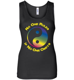 No One Rules If No One Obeys Women's Tank Top