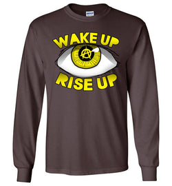 Wake Up Rise Up Long Sleeve Shirt