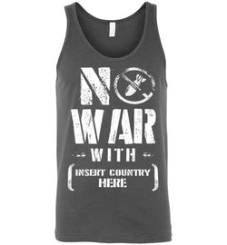No War With Country Men's Tank Top