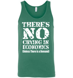 There's No Crying In Economics Men's Tank Top