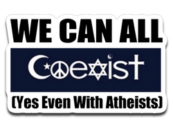 We Can All Coexist Sticker