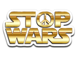 Stop Wars Sticker