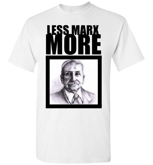 Less Marx More Mises Picture T-Shirt