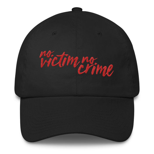 No Victim No Crime Cotton Hat