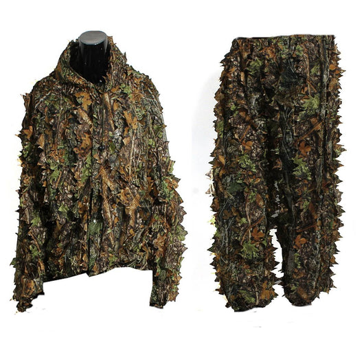 Woodland Camo 3D Jungle Hunting Clothing