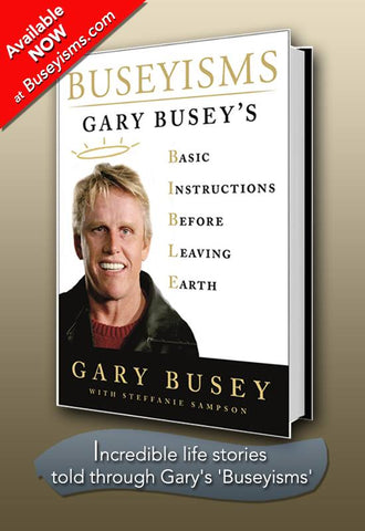 Buseyisms-Book PERSONALIZED & SIGNED COPY