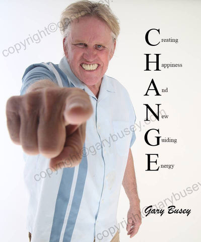 CHANGE Autographed Buseyism Photo